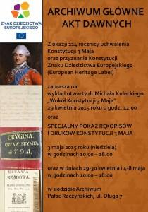 ZAPROSZENIE Konstytucja 3 maja